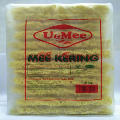 U&MEE Mee Kering / Dried Noodles 1.8kg