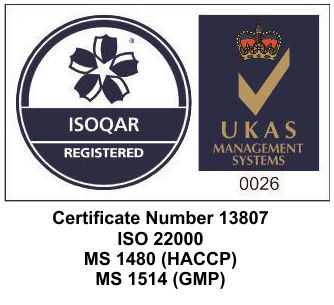 Received Accreditation For ISO22000/HACCP & GMP ~ Oct 2016