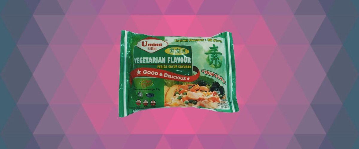 Umimi Instant Noodles Vegetarian Flavour 75g