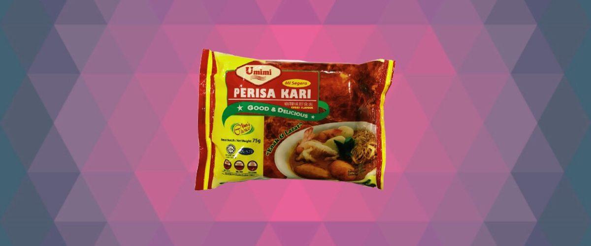 Umimi Instant Noodles Curry Flavour 75g