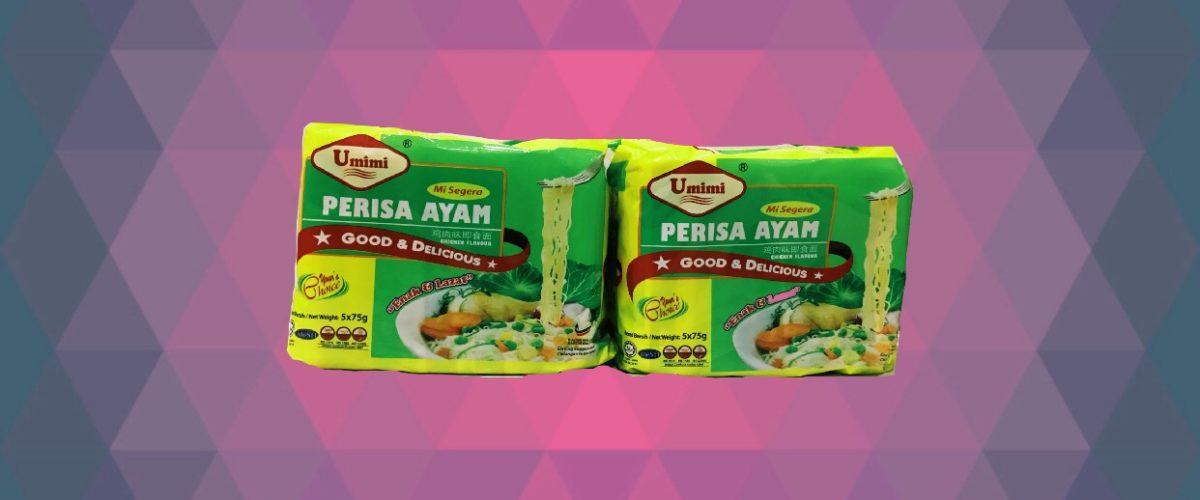 Umimi Instant Noodles Chicken Flavour 75g x 5pcs