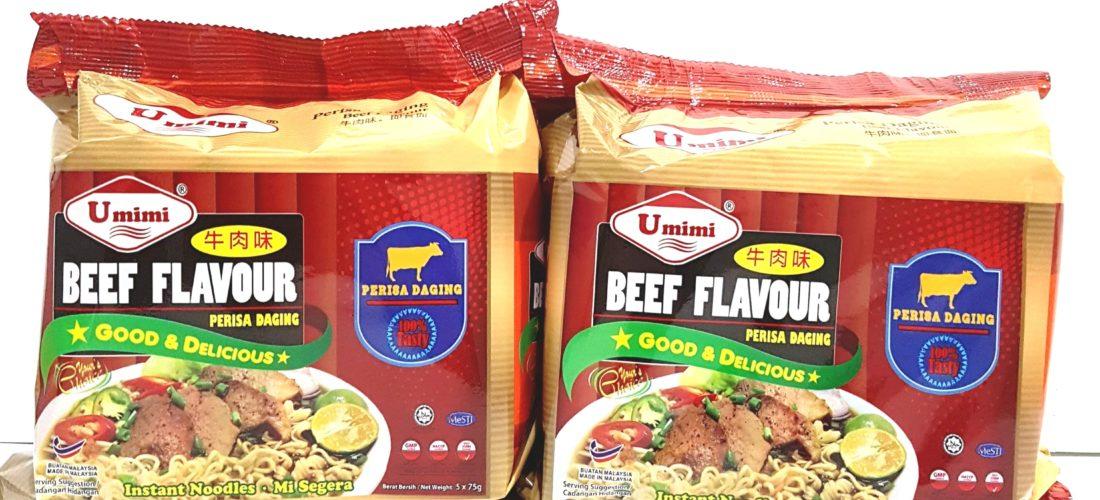 UMIMI Instant Noodles Beef Flavour 75g