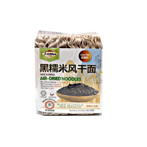 Insmee Black Glutinous Rice Dried Noodles 400g