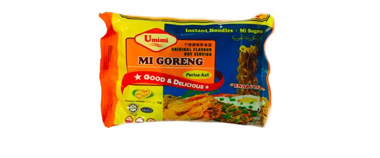 Umimi Instant Noodles Mi Goreng Flavour