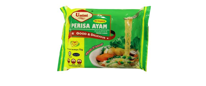 Umimi Instant Noodles Chicken Flavour 75g