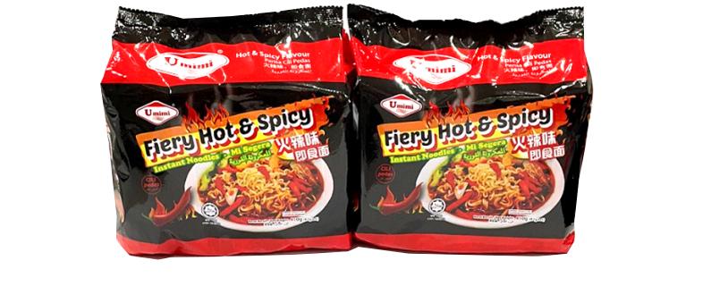 Umimi Instant Noodles Hot & Spicy Flavour 82g