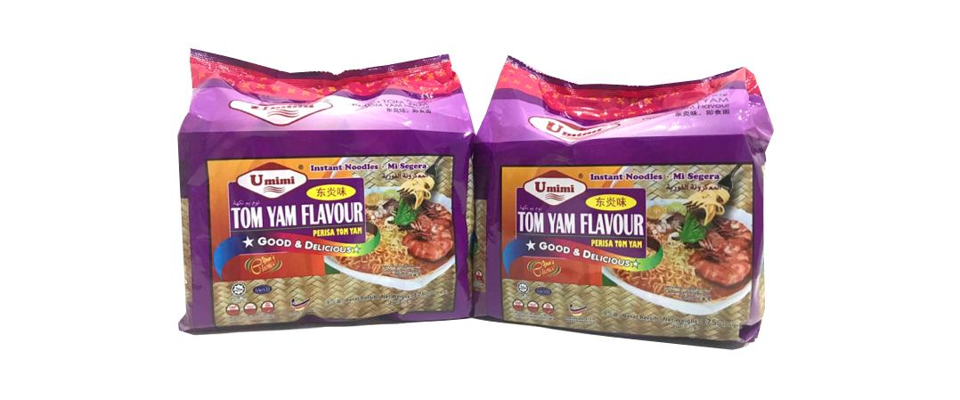 Umimi Instant Noodles Tom Yam Flavour 75g